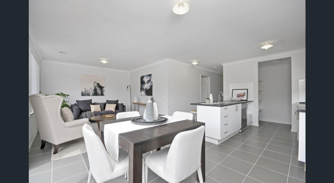 Property Styling Traralgon Dining Room