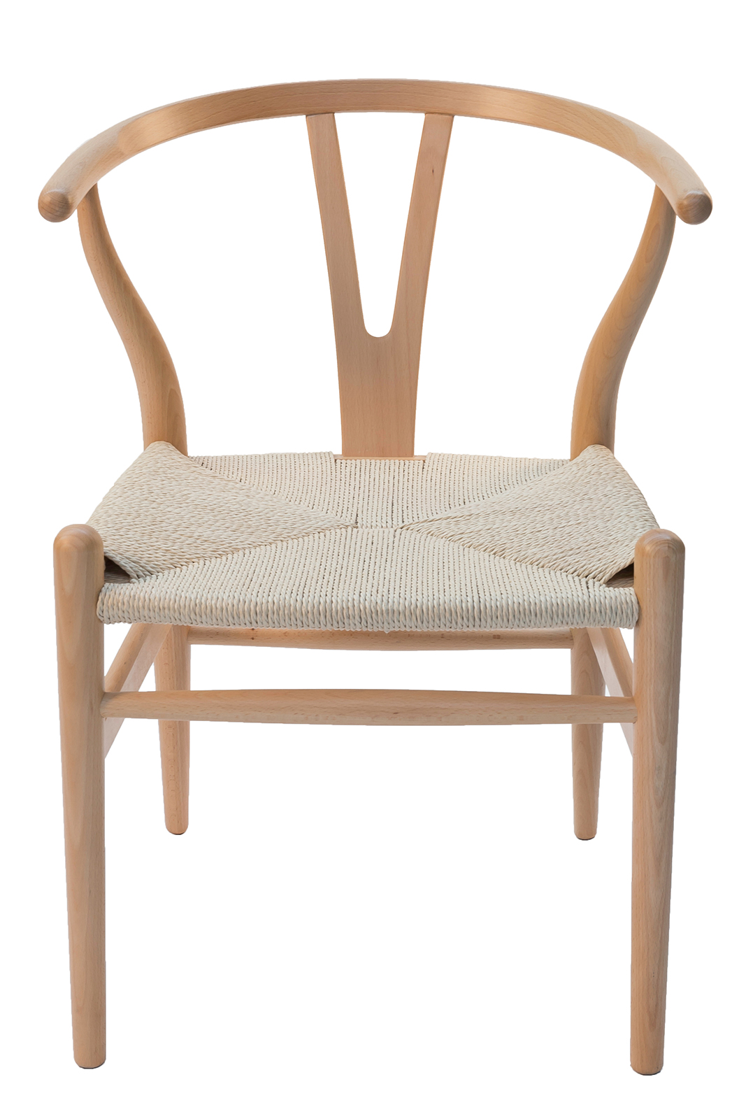 Wishbone Dining Chair Natural Timber And Rattan Jim S