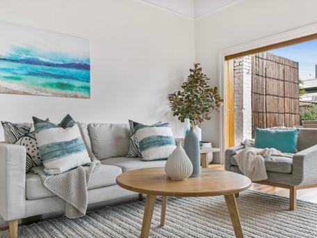 Jims Interior Design Home Staging St Kilda East Lounge Room