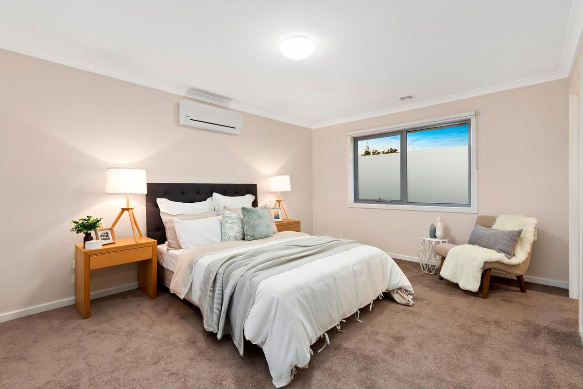 Property Styling Bulleen Master Bedroom