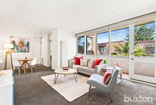 Property Styling St Kilda East Living Dining